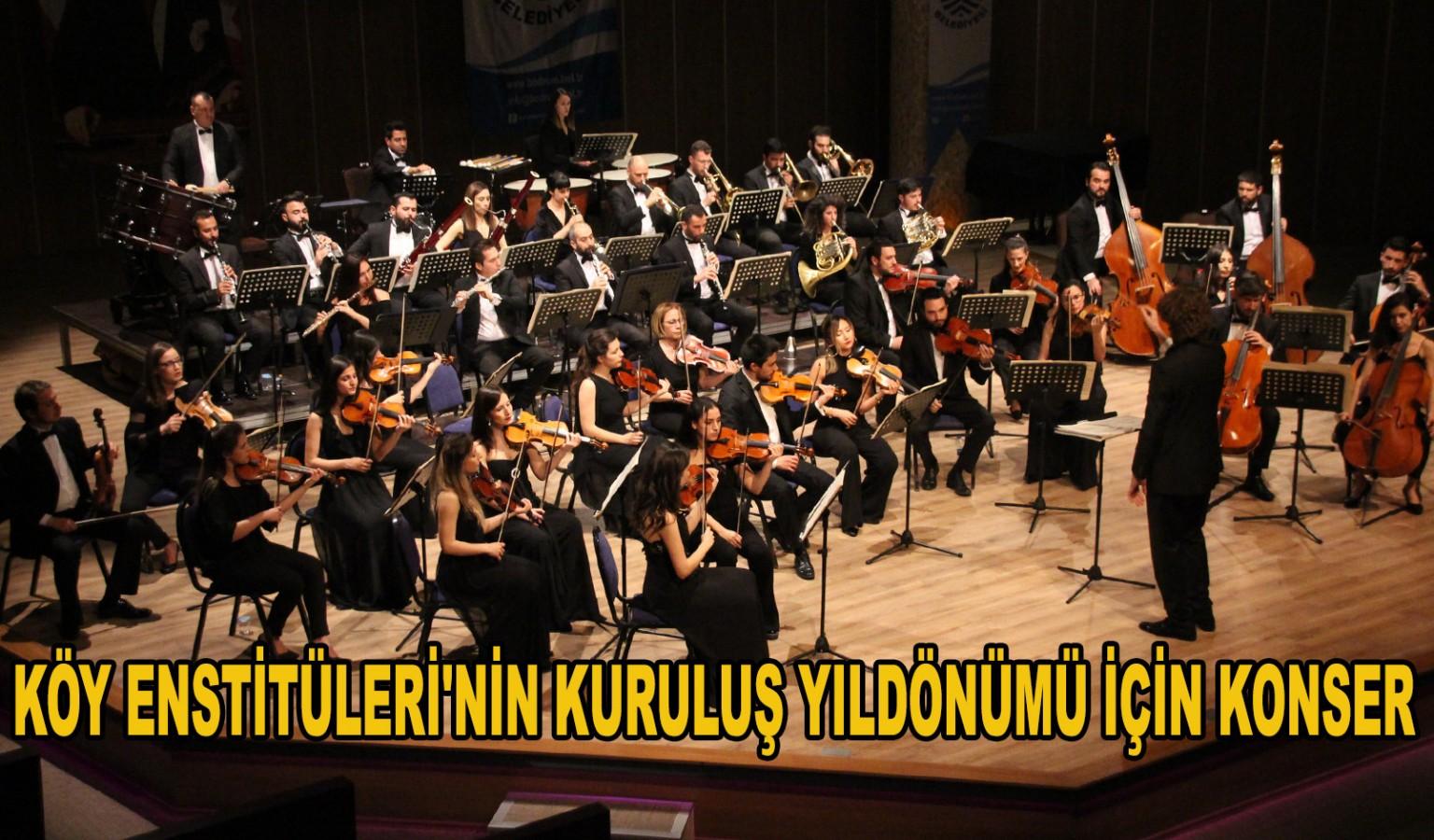 ORKESTRA SEYİRCİDEN KALABALIKTI!..