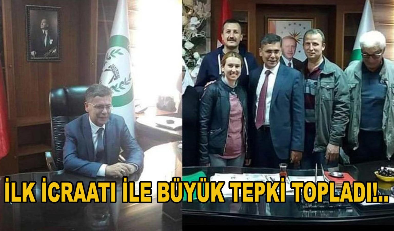 İLK İCRAATI İLE BÜYÜK TEPKİ TOPLADI!..