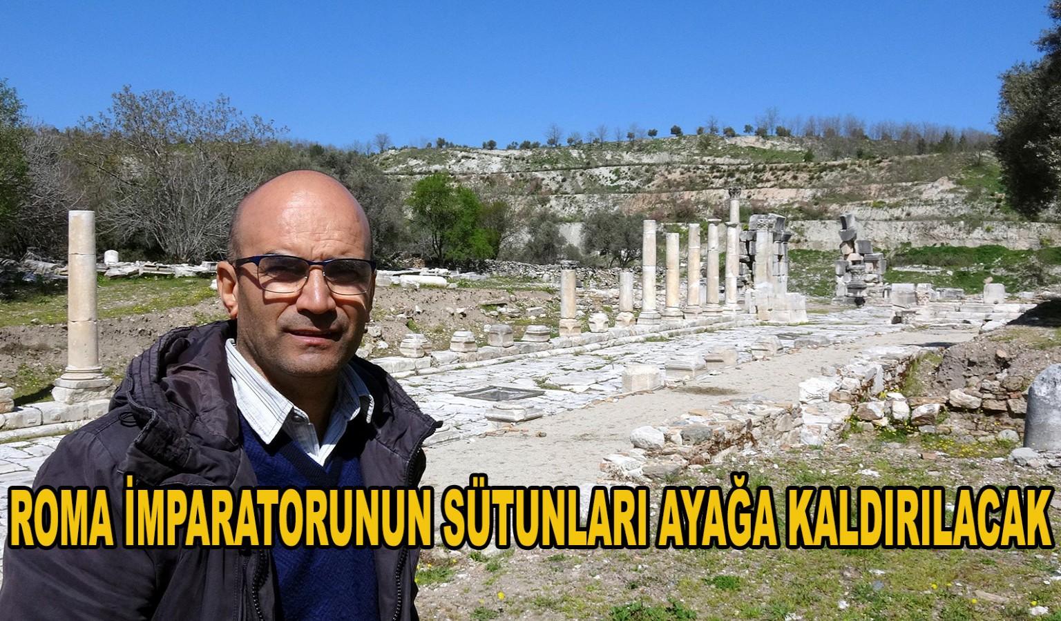 ROMA İMPARATORUNUN SÜTUNLARI AYAĞA KALDIRILACAK
