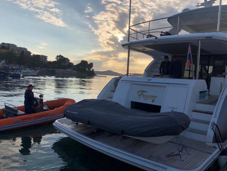 Mallorca'da Çalındı, Sahil Güvenlik Yakaladı!..