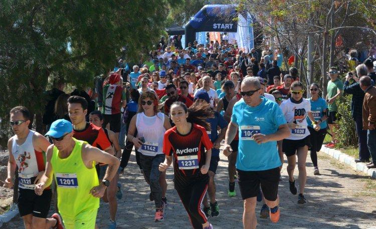 Run Datça, Yüzlerce Sporcunun Katılımı İle Yapıldı...