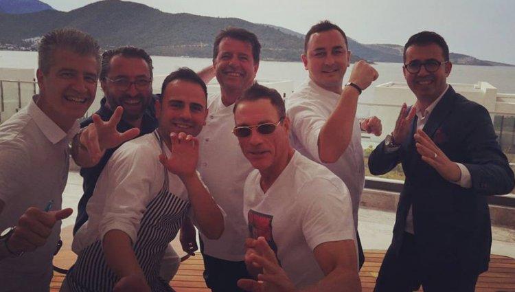 Van Damme Bodrum'a Tekne Almak İçin Gelmiş