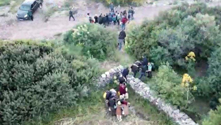 Kaçakların Yeri Dronla Bulundu