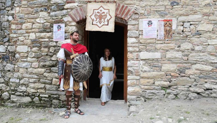 Antik Kent'te Tekstil Sanatları Sergisi
