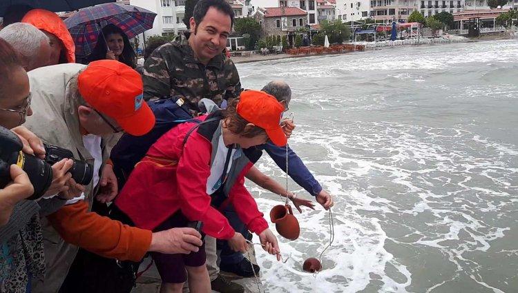 Akdeniz ile Ege'nin Suyu Buluşturuldu
