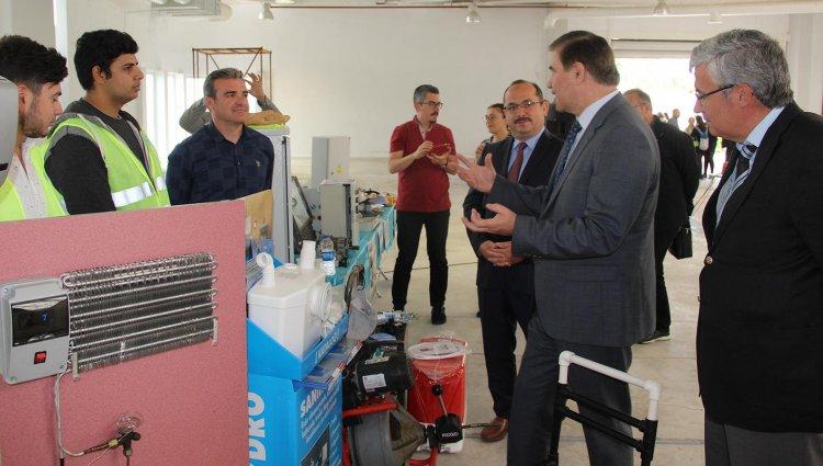 Bodrum'da Mesleki ve Teknik Eğitim Fuarı