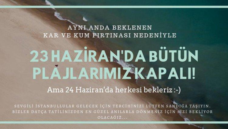 İstanbullulara Oy Kullanıp, Tatile Gelin Çağrısı