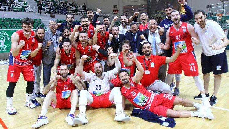 Fethiye Türkiye Basketbol Liginde!