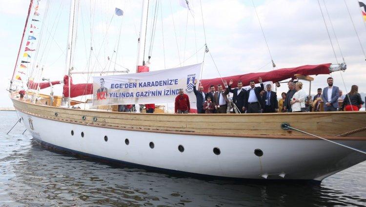 STS'yi İzmir'den Soyer ve Aras Uğurladı