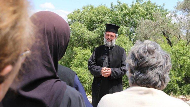 Antik Kentteki Tarihi Kilisede İlk Dua