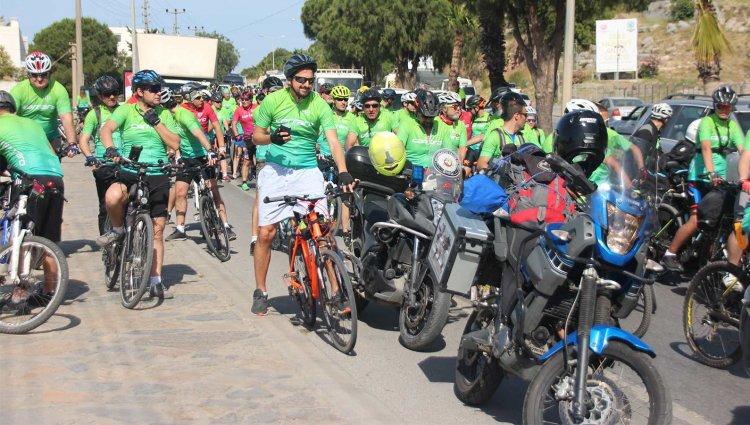 Gökova Bisiklet Turu Bodrum'dan Başladı