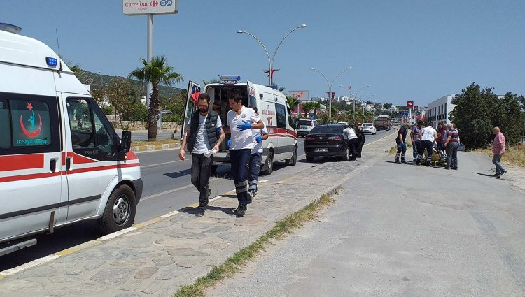 Kaldırıma Savrulan 2 Genç Yaralandı!