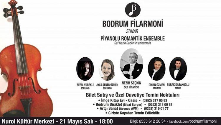 Bodrum Filarmoni Konserler Dizisine Başlıyor...