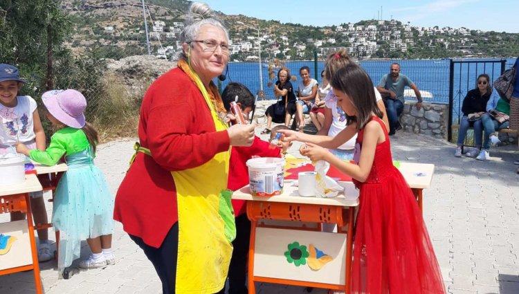 Türkbükü'nde Boyama Şenliği