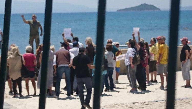 Turgutreis'te Olaylı Sahil Eylemi!..