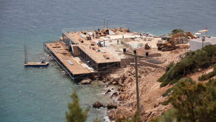 Bakanlığın Halk Plajında Çalışmalar Sürüyor