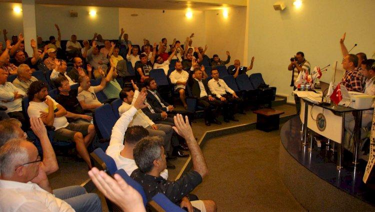 Bodrumspor'da Rıza Karakaya 5. Kez Başkan...