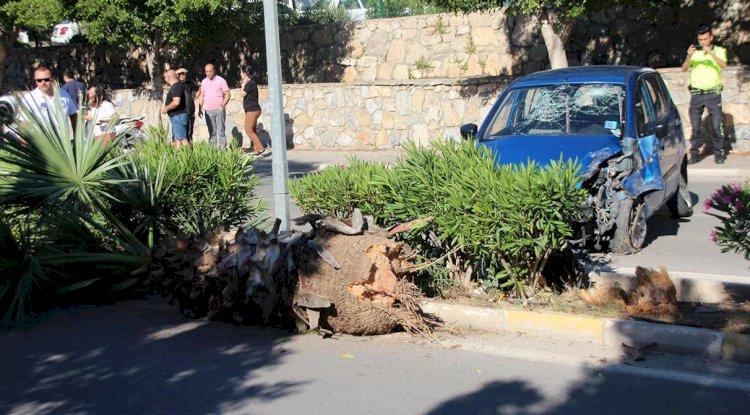 Bulvarda Kaza; 2 Yaralı!..