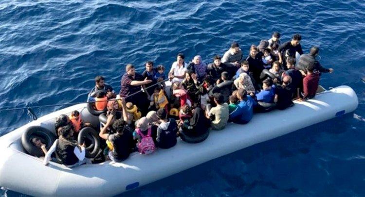 51 Kaçak Göçmen Yakalandı