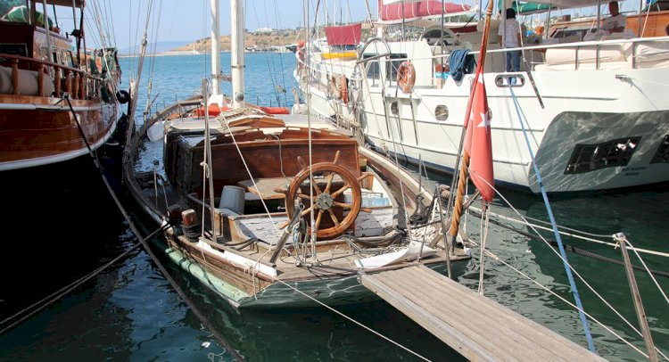 Su Alan Gulet Limanda Battı!