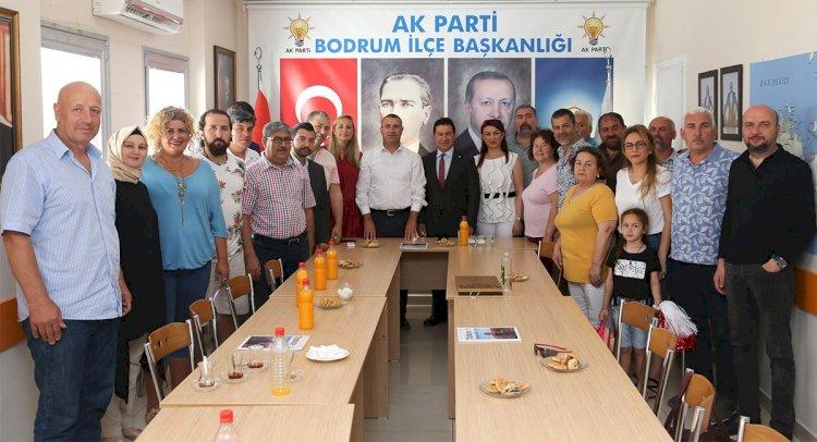 Aras'tan Ak Parti'ye Ziyaret...