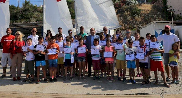 200 Öğrenci Yelkenle Tanıştı