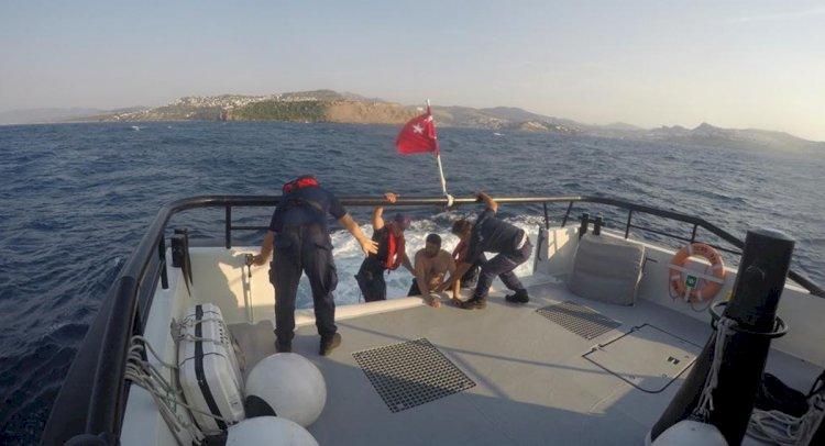 Yüzmek İçin Açıldı, Deniz Ortasında Bulundu!