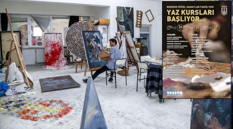 Güzel Sanatlar Fakültesi'nde Yaz Kursları Var!