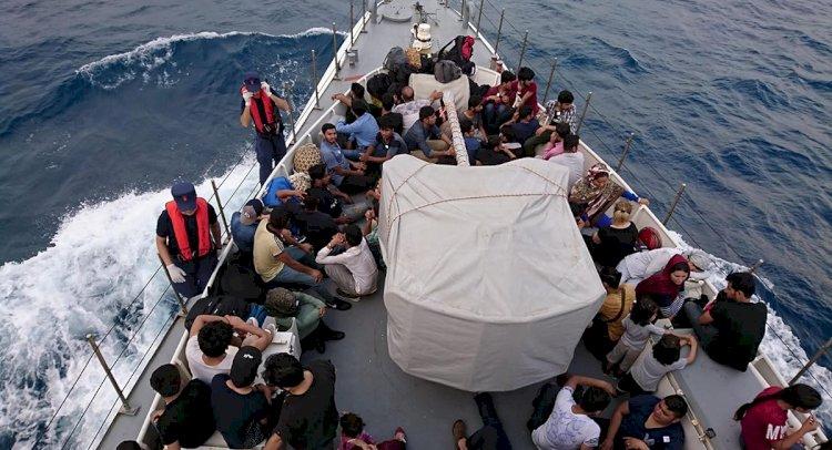 Fethiye'de, 114 kaçak göçmen yakalandı