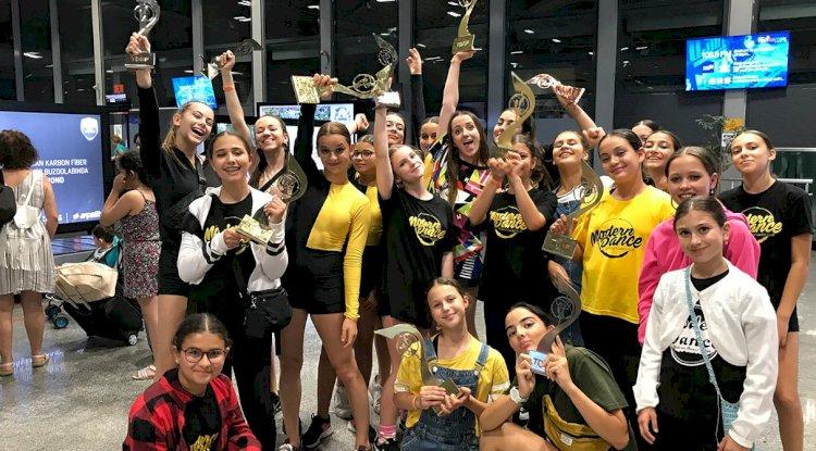 Bodrumlu Dansçılardan 7 Dalda Şampiyonluk