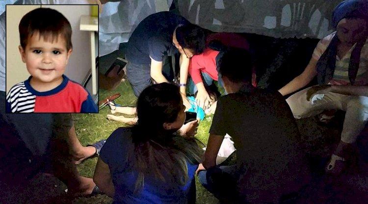 Parkta Ölen 3 Yaşındaki Serhat, Gözyaşlarıyla Uğurlandı