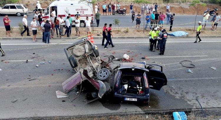 Fethiye'de Feci Kaza : 2 Ölü, 6 Yaralı!..