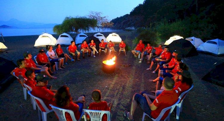 Muğla'da Engelliler İçin İzcilik Kampı