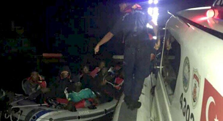 Bodrum Açıklarında 12 Kaçak Göçmen Yakalandı