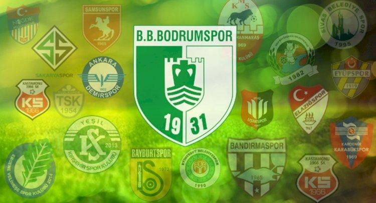 Bodrumspor'un Rakipleri Belli Oldu