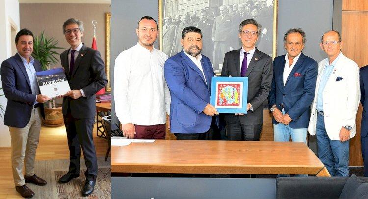Singapur Büyükelçisi'nden Bodrum Ziyaretleri