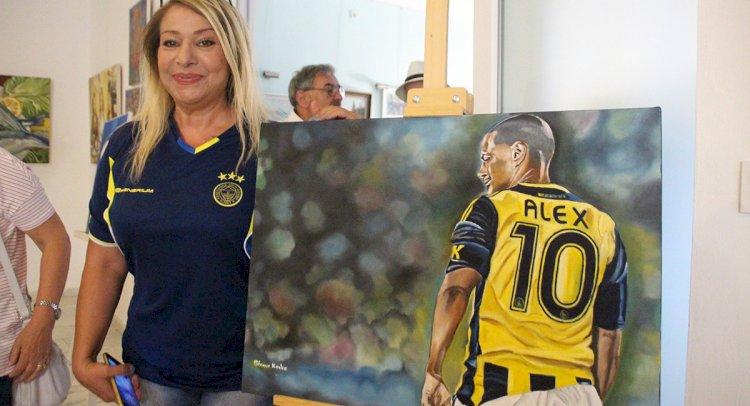 Fenerbahçe Temalı Eserler Sergileniyor