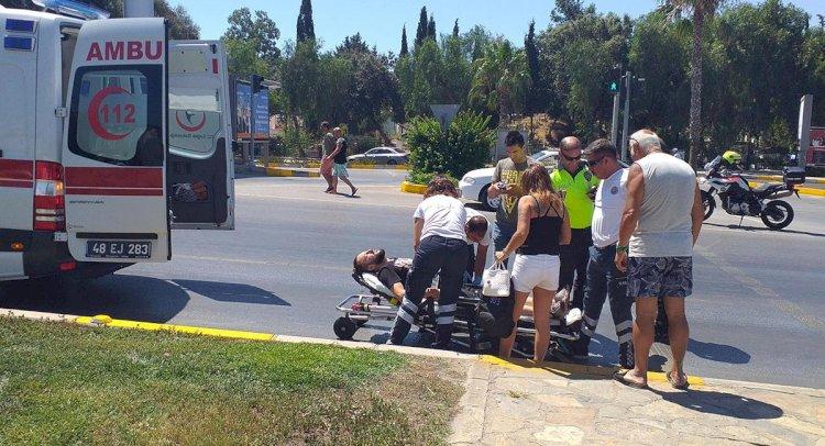 Ters Yöne Girdi 2 Kişiyi Yaraladı!