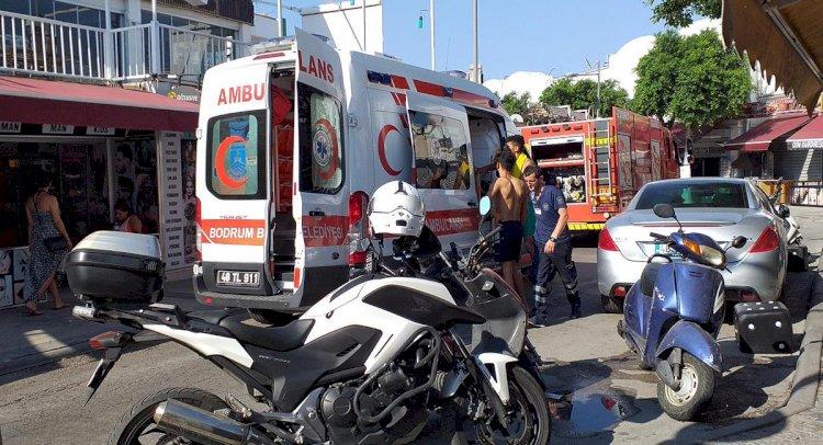 Yangını Söndürmek İsteyen 4 Genç Yaralandı!