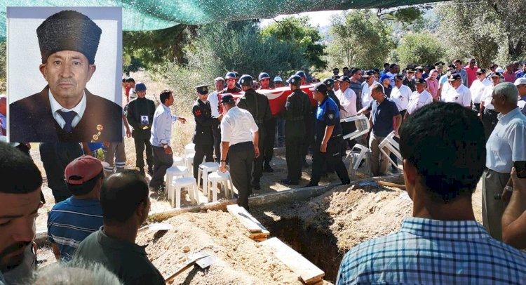 Bodrumlu Kıbrıs Gazisi Son Yolculuğuna Uğurlandı