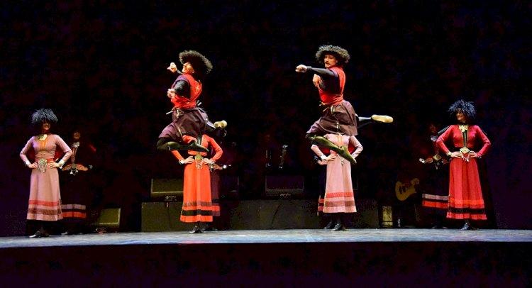 Gürcistan Ulusal Balesi Sahne Aldı