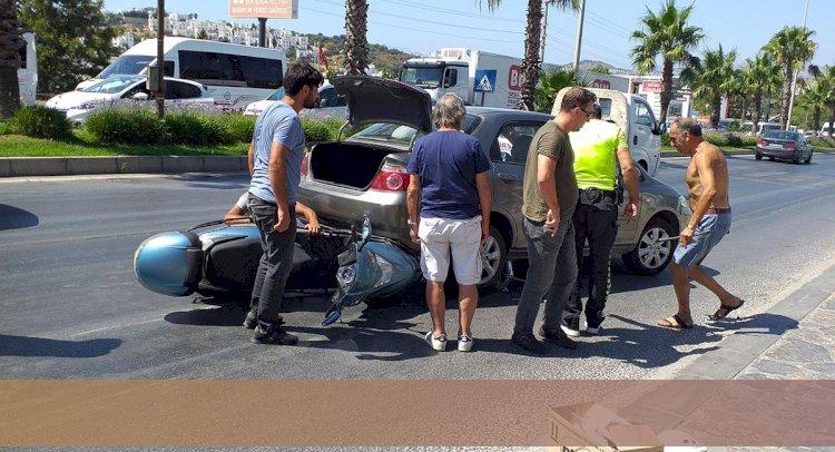 Otomobilin Altında Sıkıştı!..