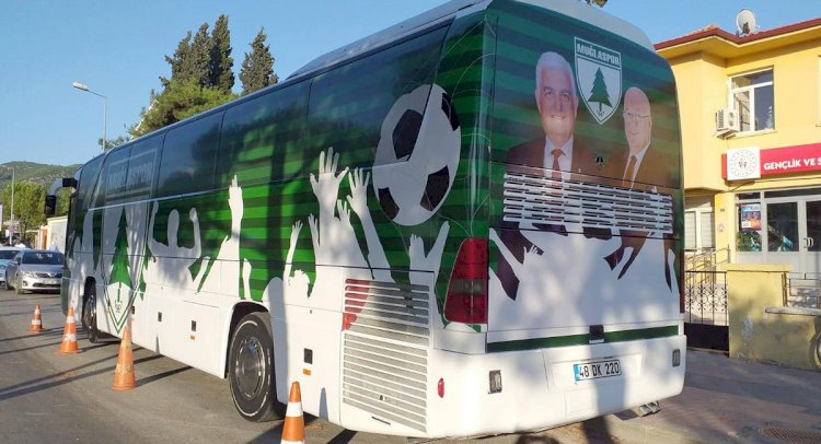 Muğlaspor'da Otobüs Kaplaması İstifa Getirdi