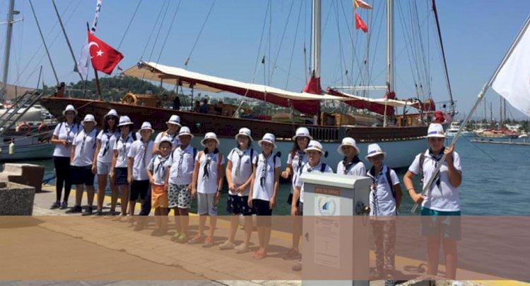 Deniz İzcileri 4 Gün Kamp Yaptı