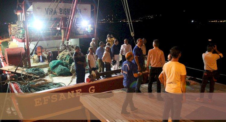 Balıkçılar Vira Bismillah Dedi...