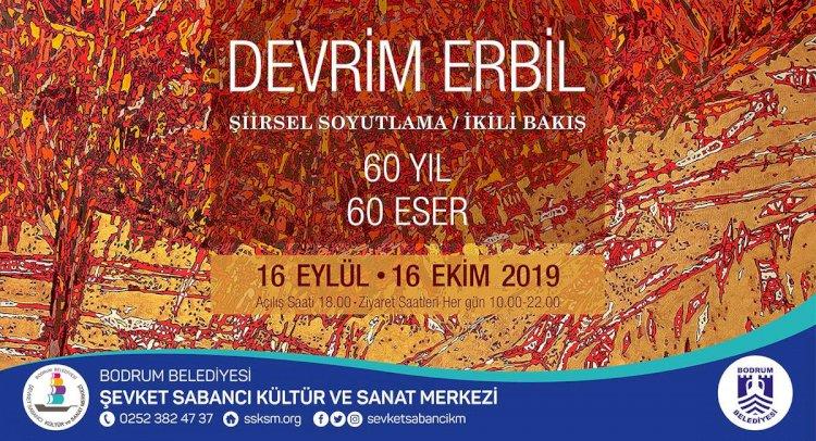 Devrim Erbil'den 60. Yılda 60 Eser Sergisi