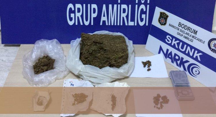Bodrum'da Uyuşturucu Baskını!