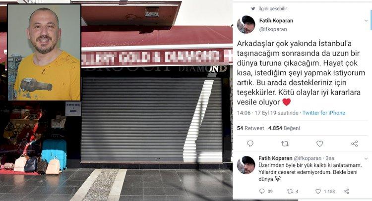 Dövülen Gezgin Kuyumcu, Dükkanını Kapattı!..