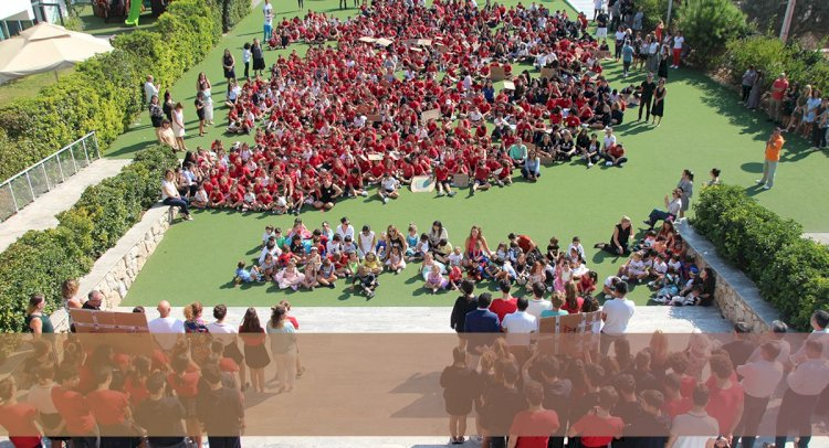 TED Öğrencileri İklim Grevindeydi