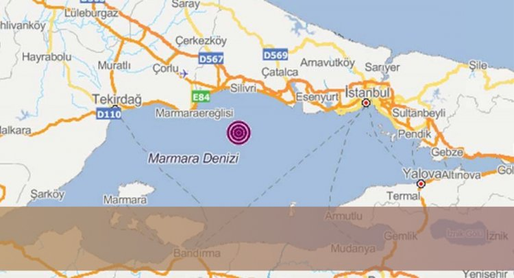 İstanbul'da Korkutan Deprem!..